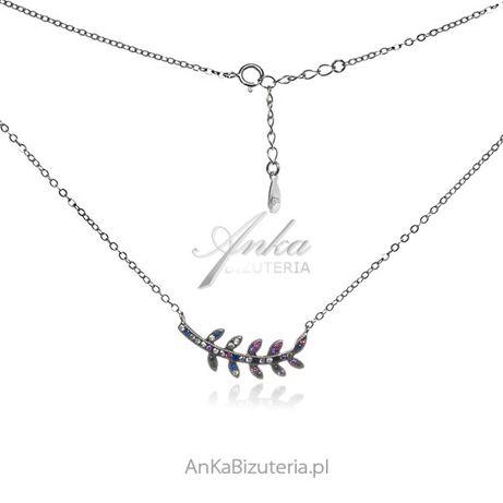 ankabizuteria.pl biżuteria na penisa Kolczyki srebrne z kolorowym burs