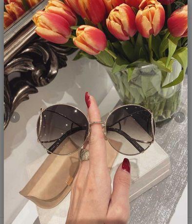 Oryginalne okulary przeciwsloneczne CHLOE certyfikat