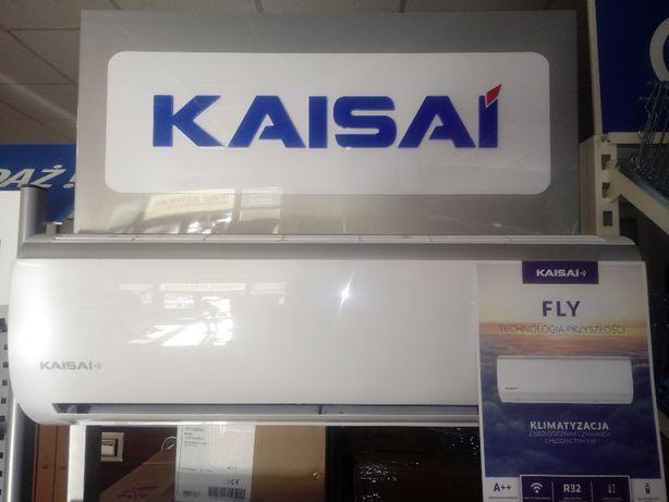 Klimatyzator split Kaisai Fly 2,6 kW z WiFi MOŻLIWY MONTAŻ