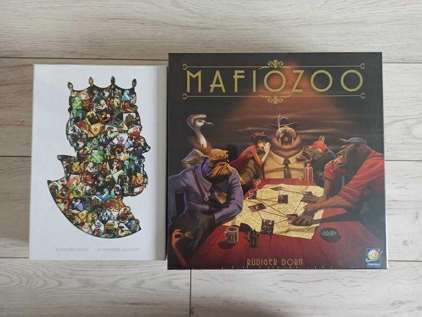 Paper Tales i Mafiozoo - Pakiet dwie nowe zafoliowane gry planszowe