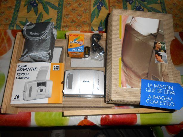 Maquina Fotografica Kodak Advantix T570 AF nova