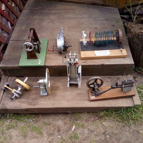 Modele maszyn przekroje silnikow pomoc naukowa , szkolna