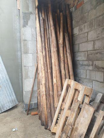 Sprzedam Stemple 2,5 -3m budowlane deski