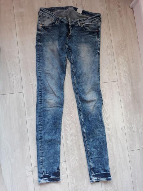 Dżinsy Super Skinny Super Low H&M. Rozmiar 29/34