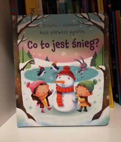 Co to jest śnieg książka z okienkami