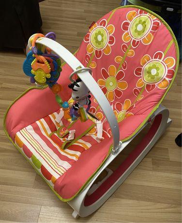Продам кресло-качельку для младенцев и малышей Fisher-Price