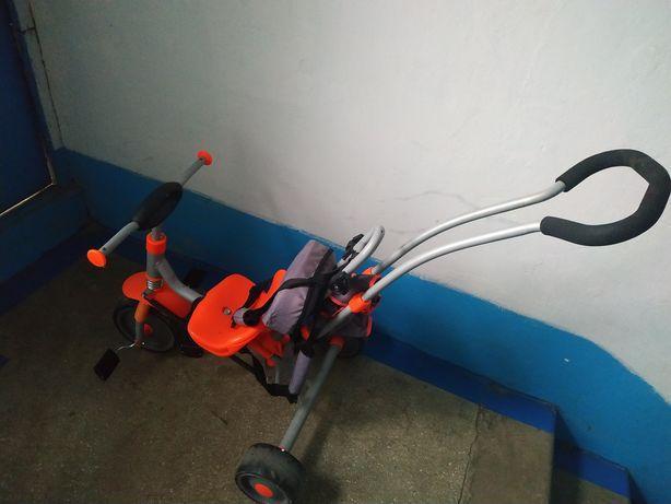 Велосипед з батьківською ручкою