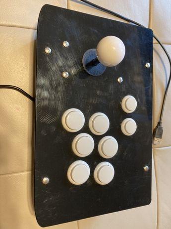 Retro joystick z guzikami moduł przyciski USB kontroler gry prezent