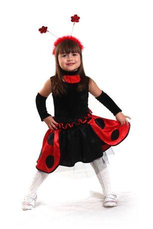 Карнавальный костюм для девочки - Божья коровка