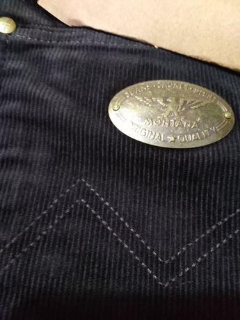 Микровельветовые джинсы Монтана