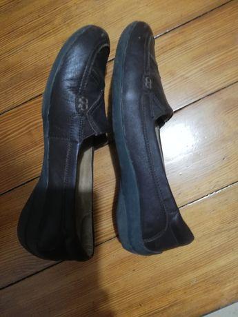 Buty damskie skórzane