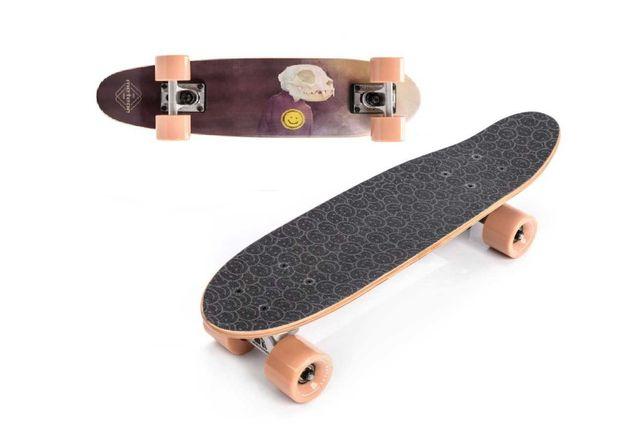 Deskorolka do jazdy po mieście deska klasyczna kompletna skateboard