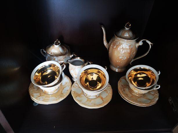 Porcelana zestaw kawowy