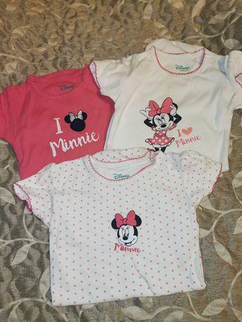 3 pak body 92 Myszka Minnie Disney