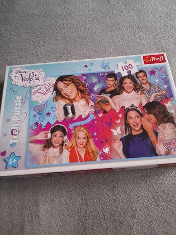 Puzzle Violetta 100