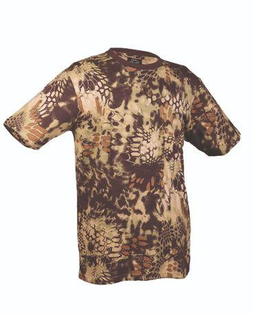 Koszulka wojskowa mandra wood