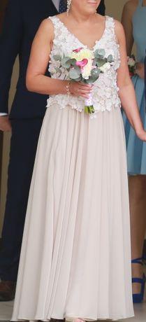 Suknia ślubna -cywilny ,w bardzo dobrym stanie założona raz