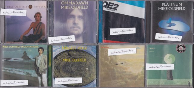 Mike Oldfield Varios CDs Remasterizados