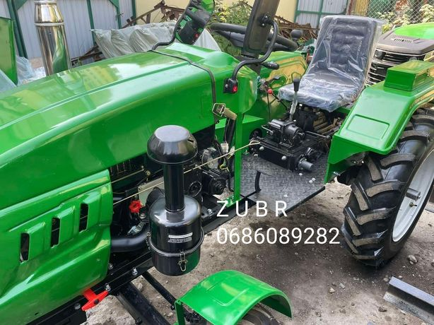 Мототрактор мінітрактор Трактор  Z U B R -Т-245 XL+ФРЕЗА 140 см.+ поту