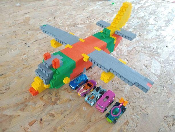 Новинка конструктор IQ Bricks 600 деталей (аналог Лего Duplo)
