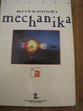"""książka """"Mechanika"""" Anna Kaczorowska,"""