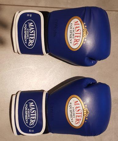 Rękawice bokserskie Masters nowe