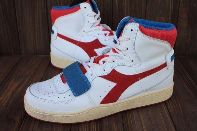 Новые кроссовки Diadora кожа Италия 41,42,44р ботинки