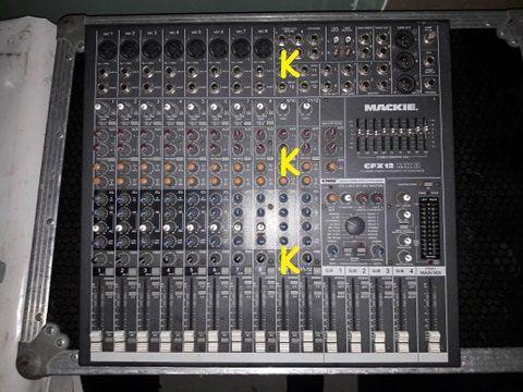 Mackie CFX12 - mixer z kamerą pogłosową
