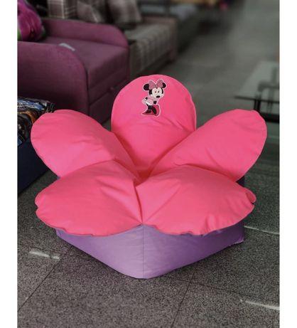 Кресло цветок бескаркасная мебель, груша, мешок. БЕСПЛАТНАЯ ДОСТАВКА