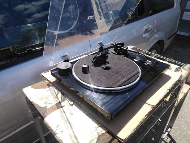 Gramofon auna Pure Precision napęd paskowy 33 1/3 & 45 obr./min