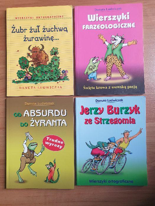 Zestaw zabawnych książek poprawiających mowę. Danuta Ludwiczak. Wrocław - image 1