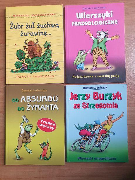Zestaw zabawnych książek poprawiających mowę. Danuta Ludwiczak.