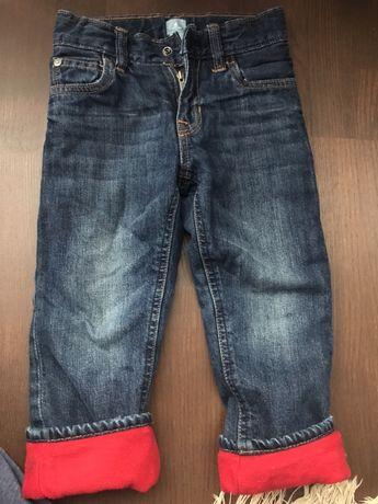 Штани, джинси утеплені для хлопчика