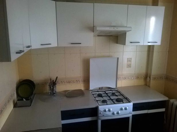 Zestaw mebli kuchennych -  meble kuchenne  - białe -  kuchnia
