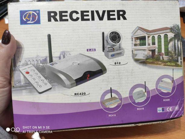 Комплект ресивер +4  камеры беспроводные 203  2.4G( модель RC312 А)