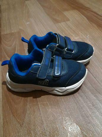 Детские кроссовки кросы синие на мальчика 26 размер стелька 17 см lidl