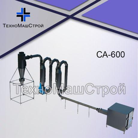 Сушилка аєродинамическая для опилок СА-600, сушка аеродинамічна