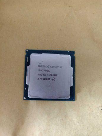 Intel Core i7-7700k ( поддерживает разгон )
