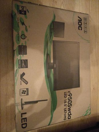 Monitor AOC 18,5 cala,led,HD Ready