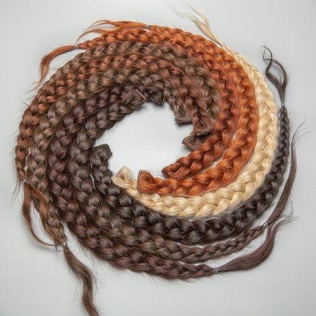 Warkocze - Włosy naturalne, słowiańskie 30 cm - 110 cm