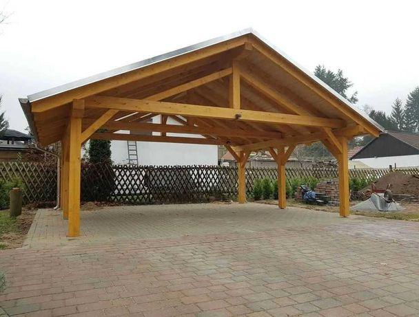 PROMOCJA! Wiata garażowa, zadaszenie, altanka, carport | KONSTRUKCJA