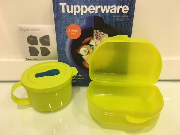 Caneca micro-ondas + OFERTA Lancheira Tupperware