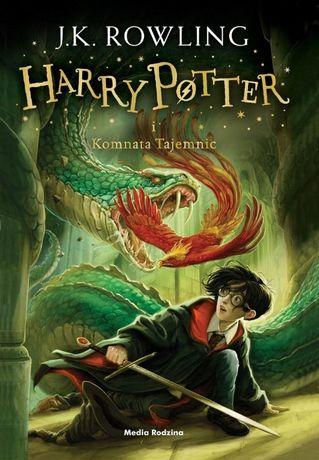 Harry Potter i komnata tajemnic- J.K. Rowling -Duddle, Oprawa Miękka