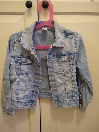 kurtka dżinsowa h&m rozmiar 116