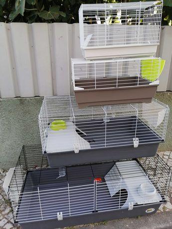 Vendo Gaiola nova para coelhos anões