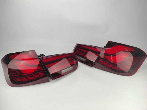 Задние диодный фонари BWM 3 F30 F80 в стиле GTS red