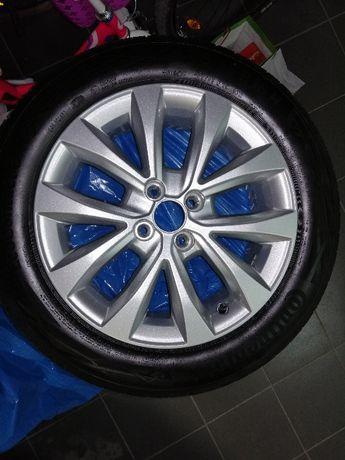 Komplet opon letnich z felgami aluminiowe do Renault Clio V  i Captur