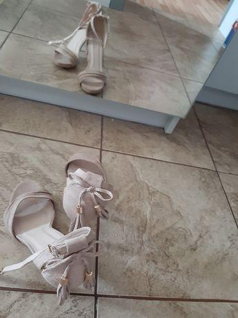 Śliczne sandały