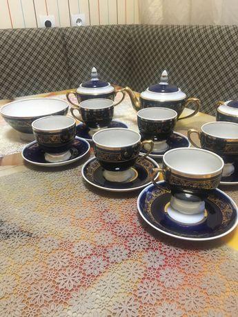 Продам сервіз чайний , кобольт, золото.