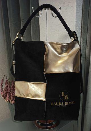 Czarna torba Laura Biaggi